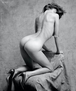 Natalie 9.15 Fine Art Figure Model Hand-Signed B&W Photo by Craig Morey
