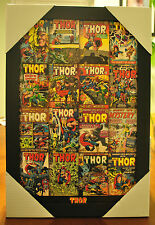Thor comic Collectible Framed Wall Decor Marvel Avengers Pyramid America