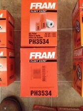 LOT OF 2 FRAM FILTERS PH3534 ALLIS-CHALMERS FORD KUBOTA FIAT NEW HOLLAND PERKINS