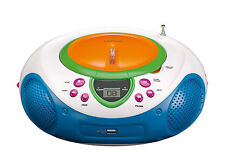 Lenco SCD-40 USB Kids CD/MP3-Player mit UKW-Radio, LCD-Display bunt B01307SKH4_3
