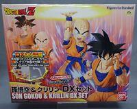 Figure-rise Standard Dragon Ball Z Son Goku & Krillin DX Set Model Kit Bandai **