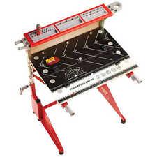 Red Toolbox Kids falegnameria Bench. autentici figli dimensioni reali wookbench