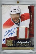 10-11 UD The Cup  P K Subban  /76  Gold Rainbow  Auto  Patch  Rookie