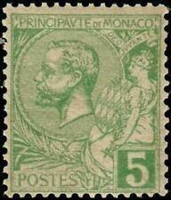 Timbres verts avec 5 timbres