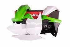 Kawasaki plastic kit KXF 450 2013 - 2015 OEM Green White Motocross MX 90545
