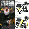 Suspension Trainer Kit Resistance Strength Training Straps Home Gym Fitness