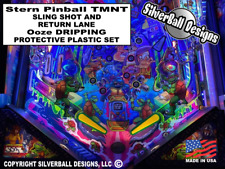 TMNT Sling Shot & Return Lane Protective Plastic Set Stern Pinball