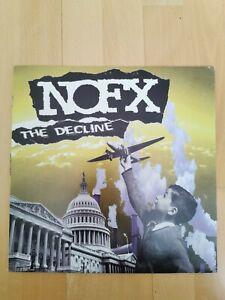 NOFX - The Decline Black Vinyl Fat Wreck Punk Rock