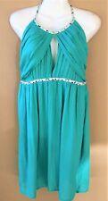Women's Green/Aqua Shakuhachi Size 10 Dress