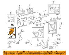 TOYOTA OEM 09-13 Matrix Instrument Panel Dash-Switch Bezel 5548002061B0