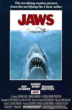 Jaws - Movie Poster - 11x18 - Hd
