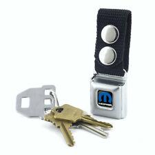 Key Chain Seat Belt Buckle Mopar Blue MPA