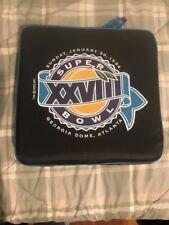 Super Bowl XXVIII Seat Cushion Vintage 1994 Dallas vs Buffalo Game