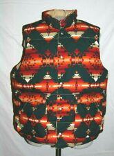 Denim & Supply Ralph Lauren Mens XXL Aztec Southwestern Puffer Vest Reversible
