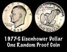 1978-S Eisenhower Dollar Gem Proof Clad Ike San Francisco One Random Coin