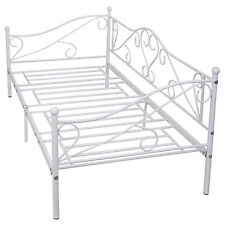 "Daybed Sofa Bed Frame Solid Steel Slat Support Guest Dorm Home Furniture 77""x36"""
