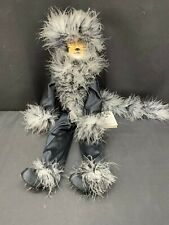 """Crawford's Collectibles CATS Musical """"MISS KITTY"""" Black / Porcelain ~  18"""" Tall"""