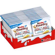 (25,51 €/kg) Ferrero Kinder Country 20x 2er