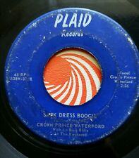 Crown Prince Waterford Sack Dress Boogie Boddie Records Plaid Records Rare RnB