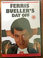 Ferris Bueller's Day Off DVD Rare 1st Release with John Hughes Commentary