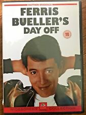 FERRIS BUELLER'S DAY OFF ~ Rare 1st Release with John Hughes Commentary UK DVD