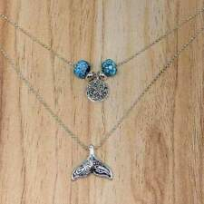 Whale Tail Layered Necklace