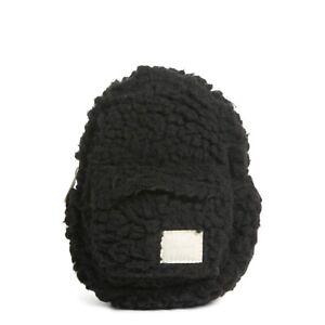 New Herschel Supply Co Heritage Mini Pouch Black Fleece