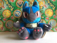 "Pokemon Plush Lucario 7"" UFO 2009 stuffed doll Rare figure toy US Seller"