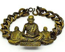 Great Bracelet Thai Amulet Phra Luang Phor Ngern Wat Bangklan Buddha Sacred Old