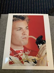 NICO ROSBERG   -  SIGNED  -  F1 Photo***  In Gold Color
