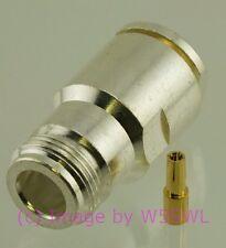 N Silver Female Clamp Connector LMR400  - USA Seller RadioConnectors