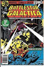Battlestar Galactica #1-23 Complete Set Lot Run All Newsstand Editions