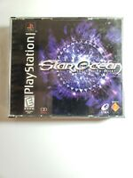 Star Ocean:The Second Story (PlayStation 1, 1999)-Japanese Version Tested-Works