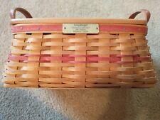 Longaberger christmas tissue basket