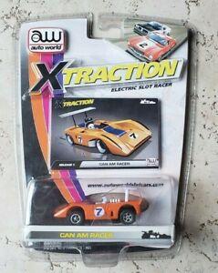 Auto World / xTraction | #7 Can Am Racer | Orange | Slot Car