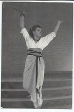 Peggy Ashcroft as Cleopatra Stratford Upon Avon Vintage Postcard