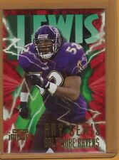 RAY LEWIS SKYBOX IMPACT ROOKIE RC CARD BALTIMORE RAVENS RETIRE HOT!