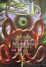 311 Fillmore Poster Blackalicious F722 Zach Hexun Original Bill Graham Wiedemann