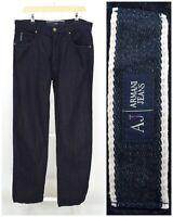 Mens Armani Jeans Indigo 009 Denim Blue Summer Lightweight Straight Size W32