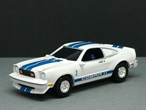 1976 FORD MUSTANG COBRA II COLLECTIBLE 1/64 LIMITED EDITION MUSCLE CAR WHITE
