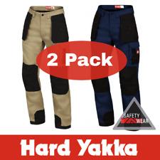 2x Hard Yakka Xtreme Extreme Legends Pants Work Cotton Trousers Tradie Y02210