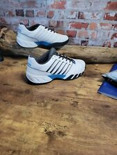 K-Swiss Men`s Bigshot Light 4 Tennis Shoes White and Peacoat size10.5