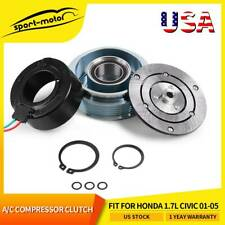 Ac Compressor Clutch Assembly Fit For Honda 17l Civic 2001 2002 2003 2004 2005 Fits 2001 Civic