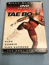 Billy Blanks Tae Bo Flex & Cardio & Flex Express (3-Pack DVD)