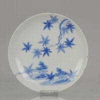 Antique 18c Arita Lovely Japanese Porcelain Plate in Nabeshima Style Por...
