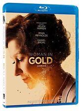 USED BLU-RAY - WOMAN IN GOLD - Helen Mirren, Ryan Reynolds, Katie Hol