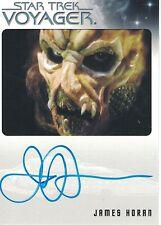 Star Trek Voyager Heroes & Villains (2015): James Horan autograph