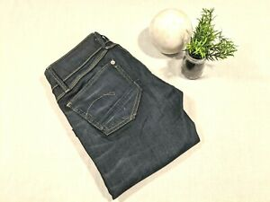 G Star womans Lynn Skinny jeans low rise dark wash as new condition Size 26/32