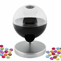 Kids One Touch Candy Dispenser Machine Sweet Gumball Nut Snack Party Fun Home