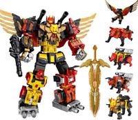 Transformers WeiJiang Predaking Combiner 5 In One Set Feral Rex Action Figure